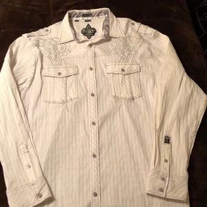 Roar men's shirt like new 2XL